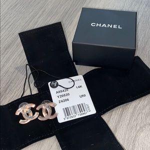 Hologram Chanel earrings
